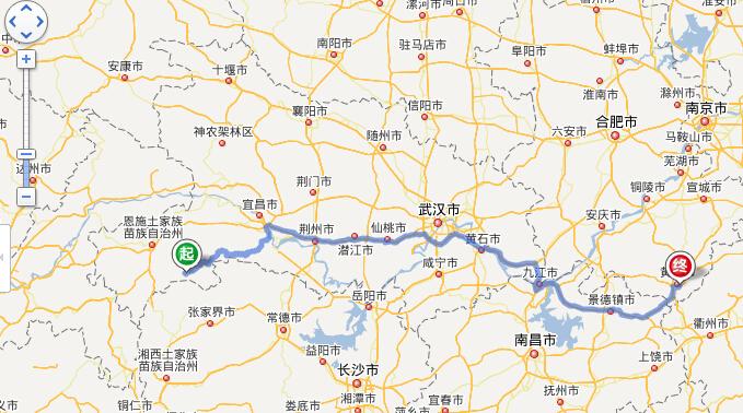 鹤峰县旅游地图展示