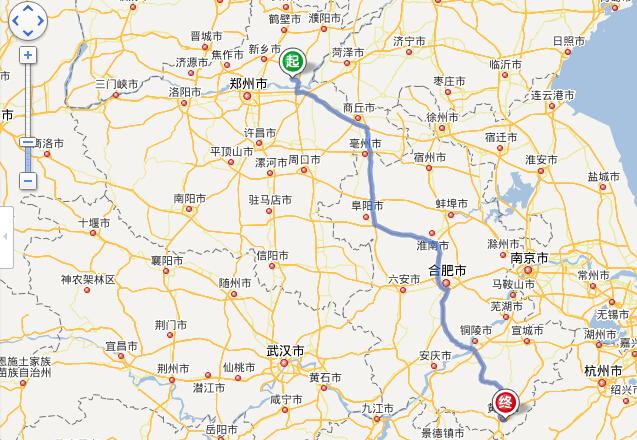 封丘县城地图街道