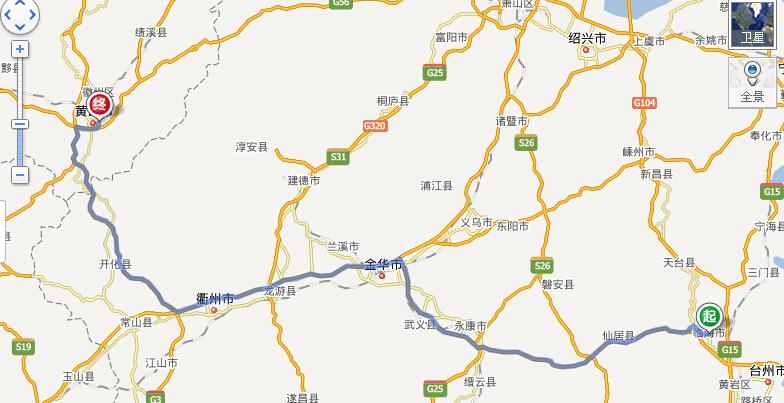 广丰旅游景点地图